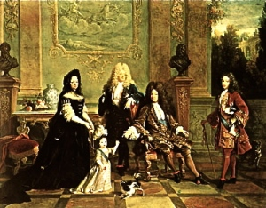 Louis XVI and his family